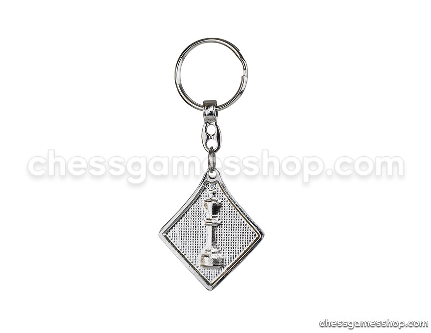 Metal keychain <br> King - flat