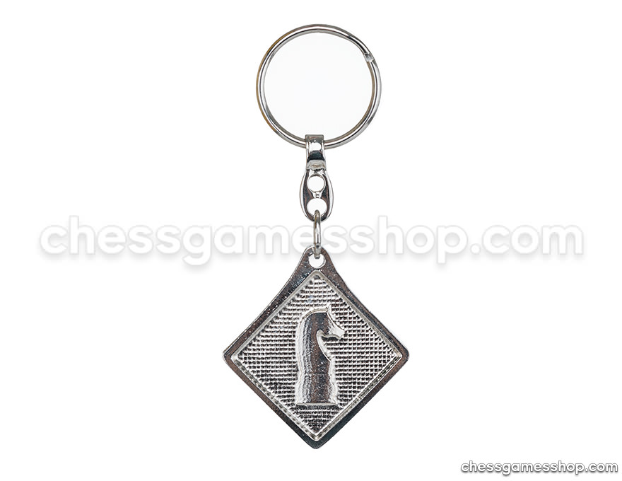 Metal keychain <br> Knight - flat