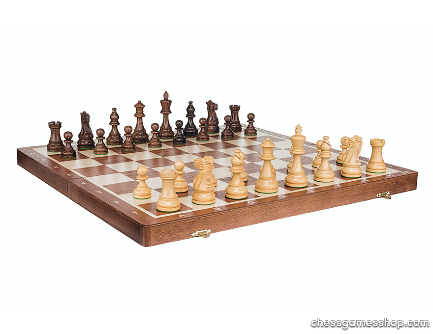 Chess set <br> American Staunton