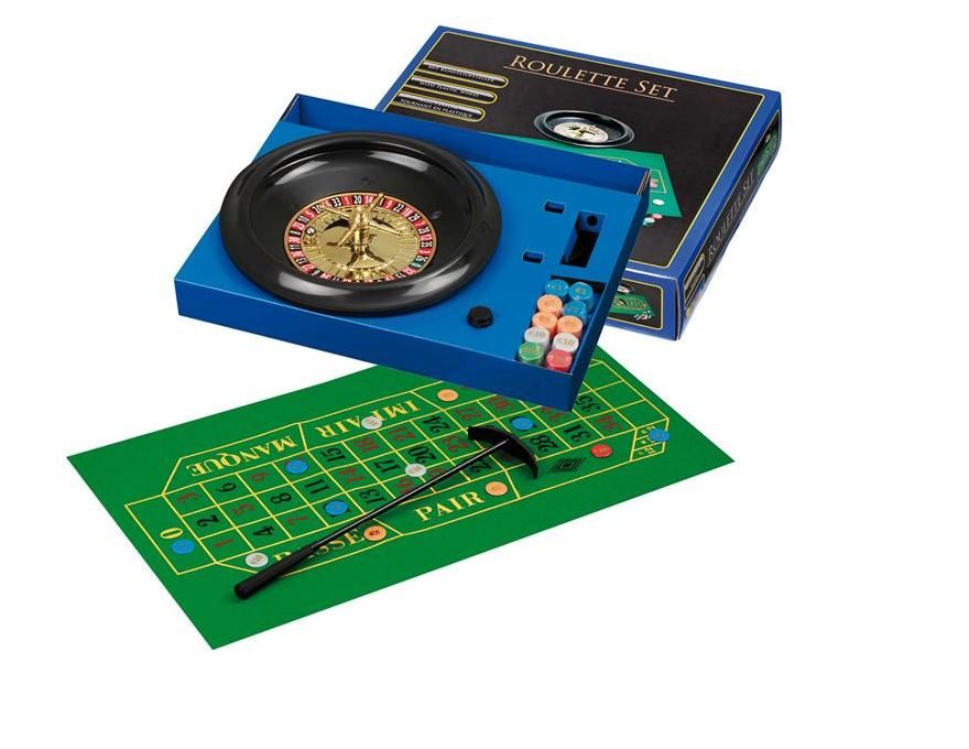 roulette set <br> plastic wheel