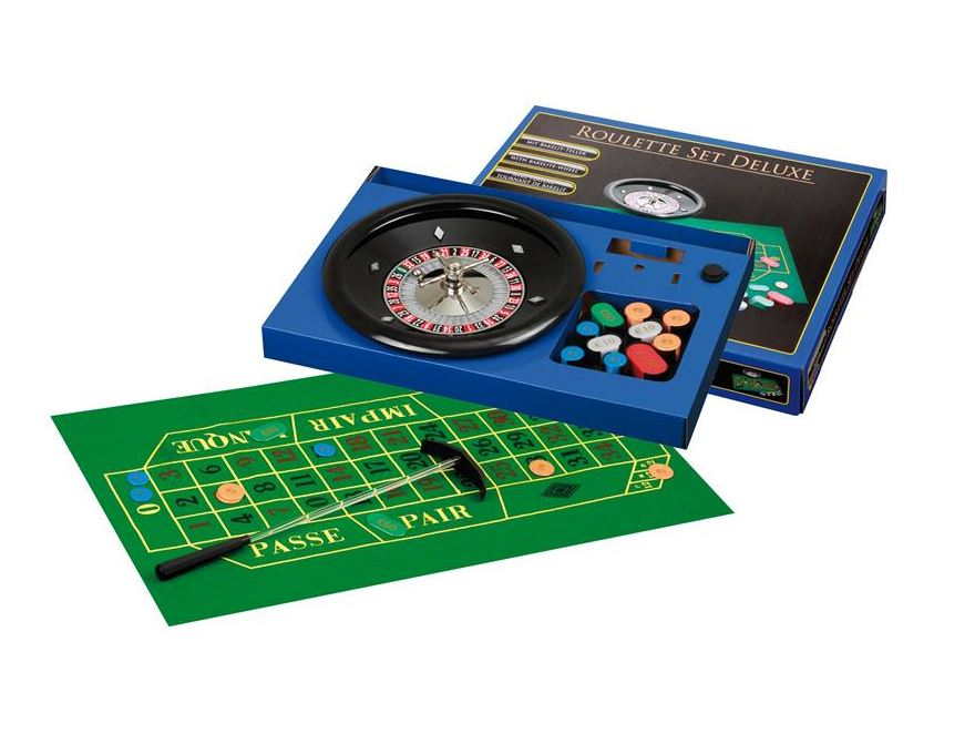 Roulette set <br> bakalit wheel