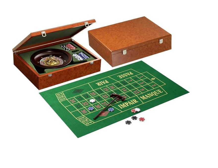 Roulette set <br> Wood imitation