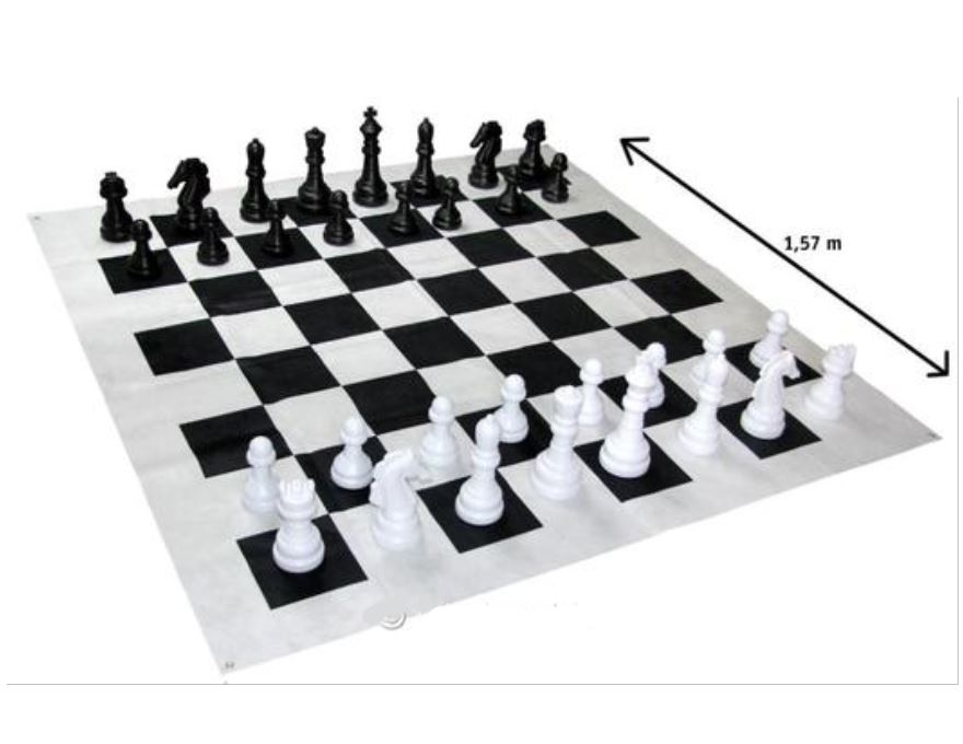 Garden junior chess set