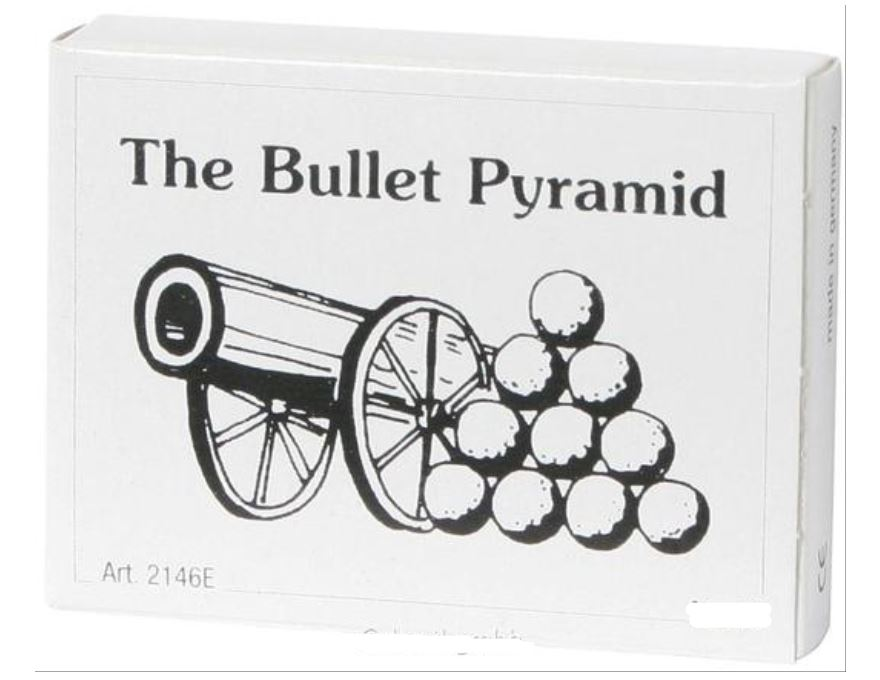 Mini Puzzle <br> The Bullet Pyramid
