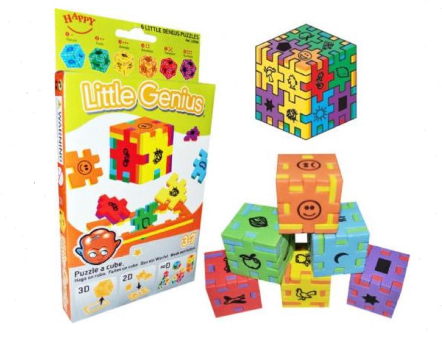 Happy Cube - Little Genius - 3D - 6 pack