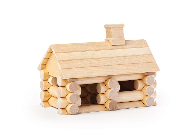 Wood Construction Set - Chalet