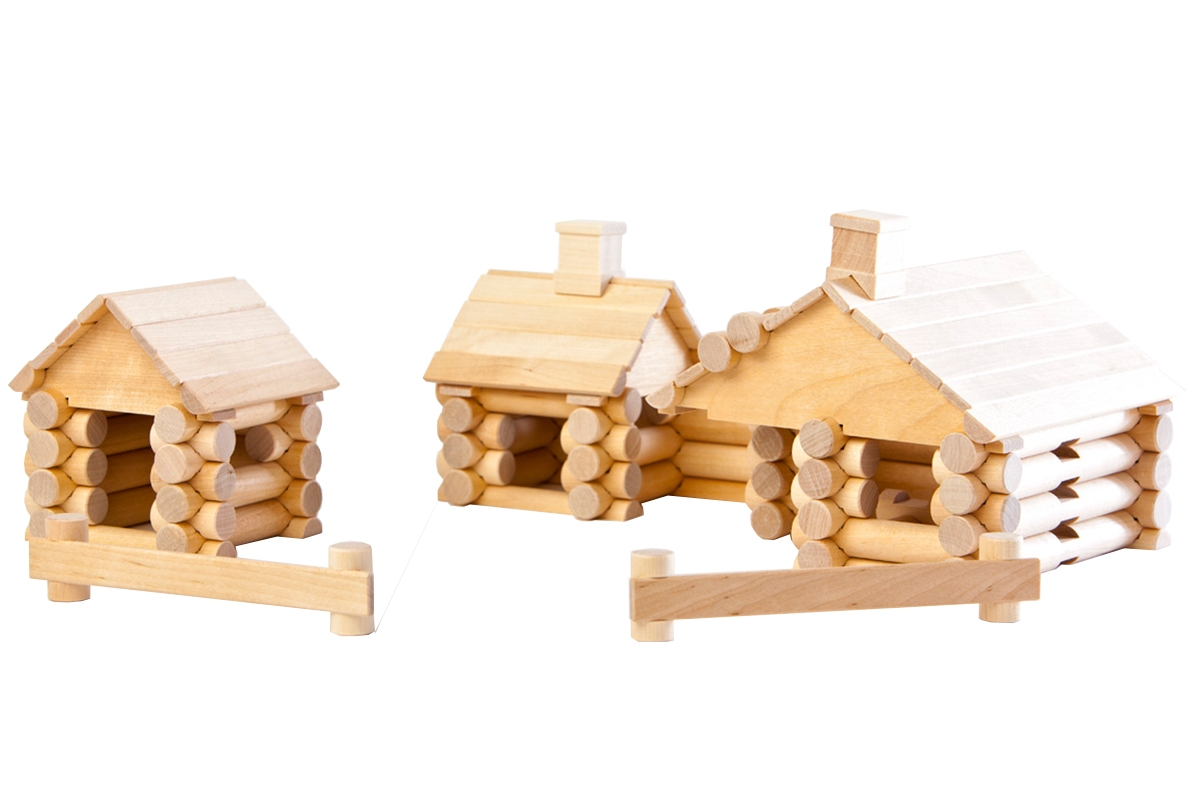 Wood Construction Set - Farm