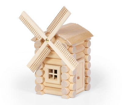 Wood Construction Set - Windmill