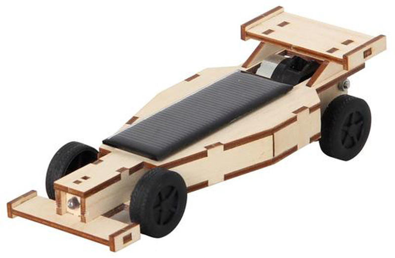 Solar Assembly Kit - Racing car