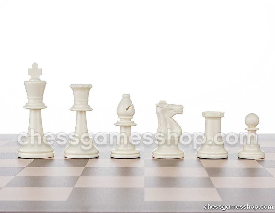 JigChess pieces White <br> Half set