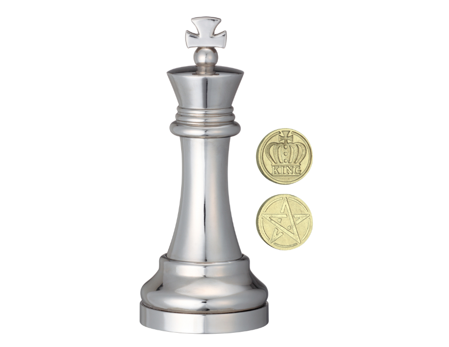 King - chess piece - puzzle