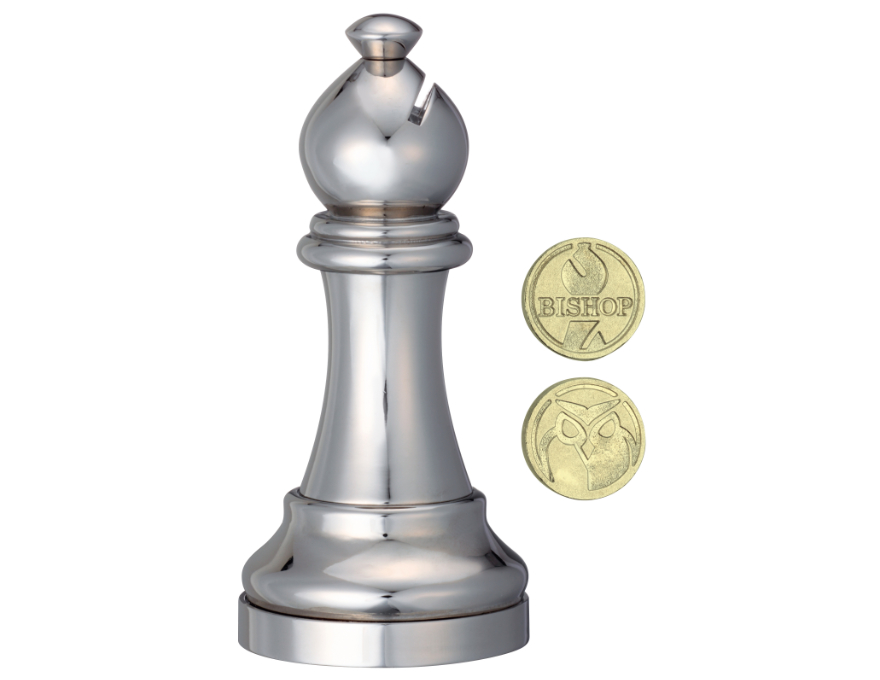 Bishop - chess piece - puzzle