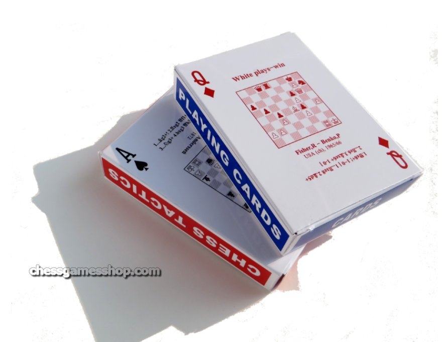 2 decks of chess problem cards