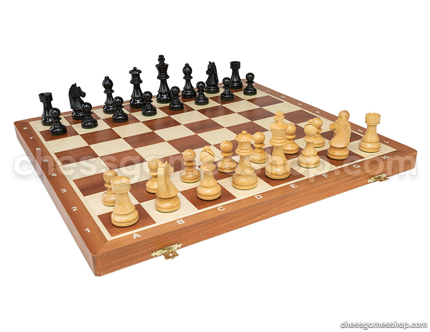 Chess set <br> Staunton standard - black