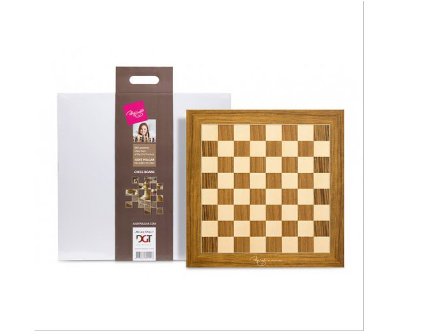 Judit Polgar Chess Board