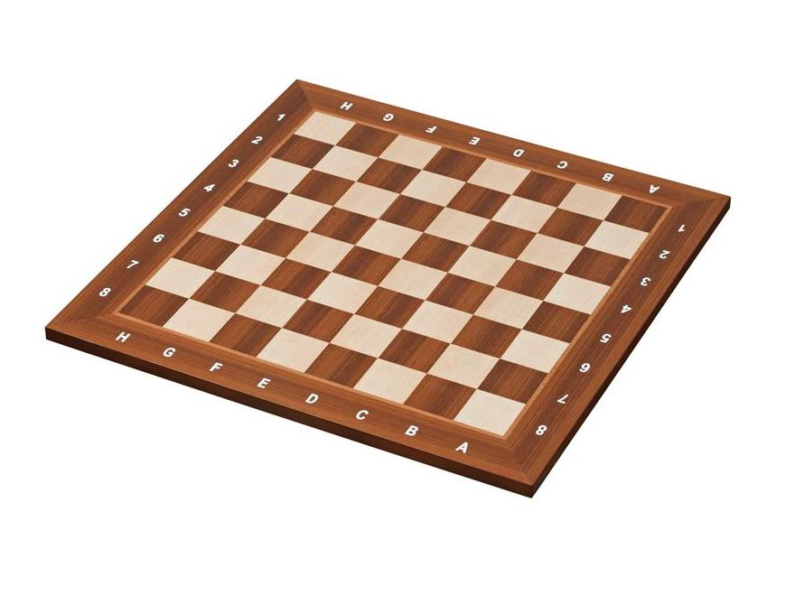 Wood chess board Bonn <br> 55 mm - 2,17 inch