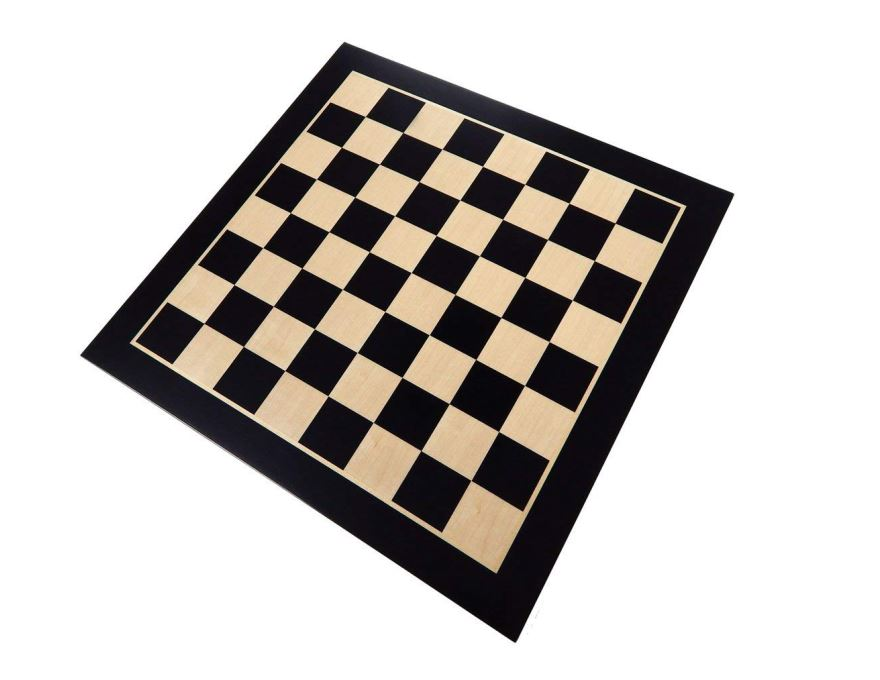 Wood chess board Berlin <br> 55 mm - 2,17 inch