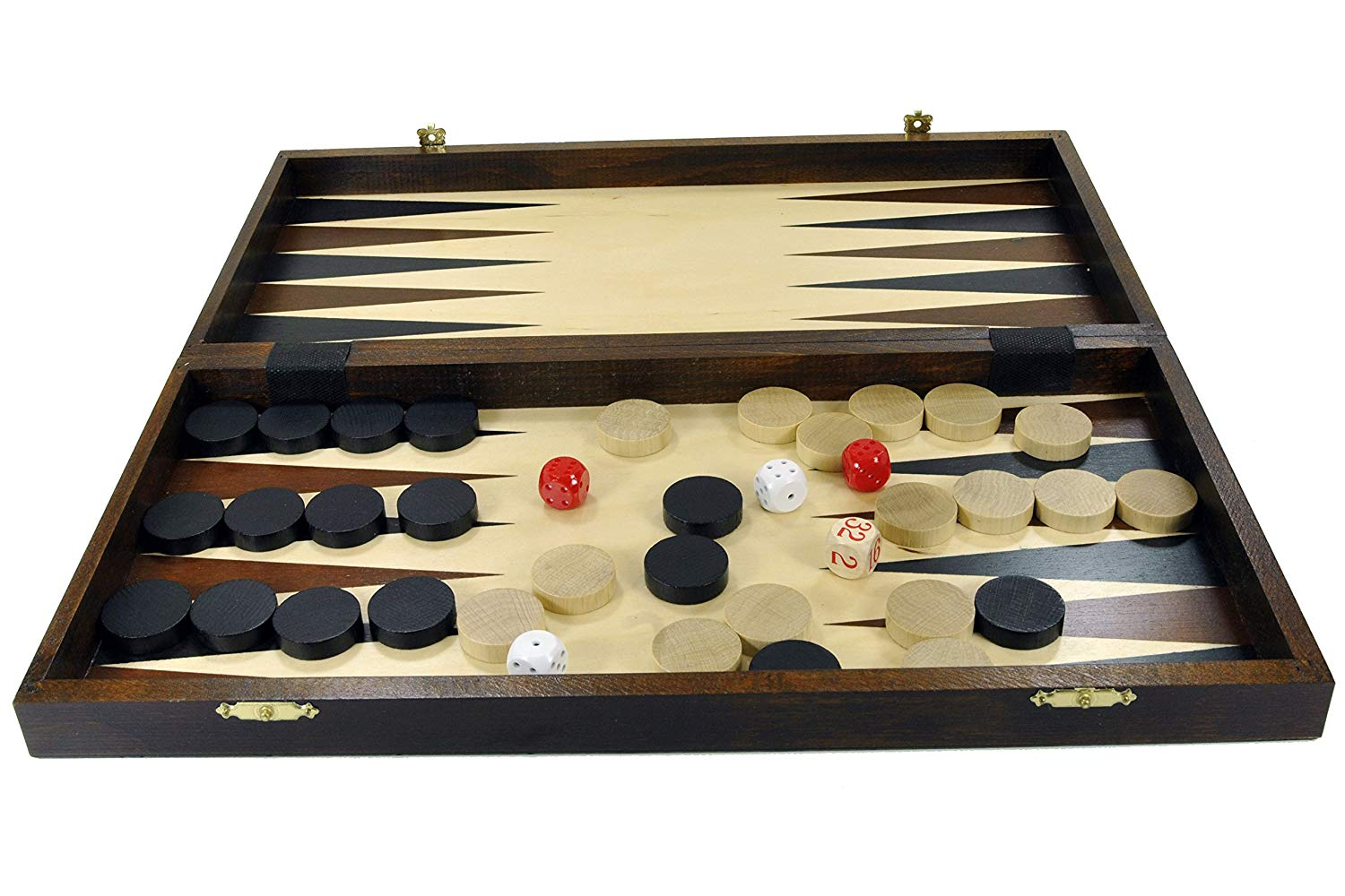 Backgammon + Dama + Šah No.4