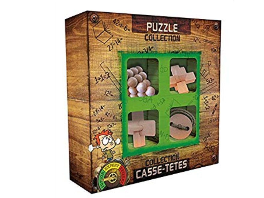 Gift box of 4 cubes JUNIOR