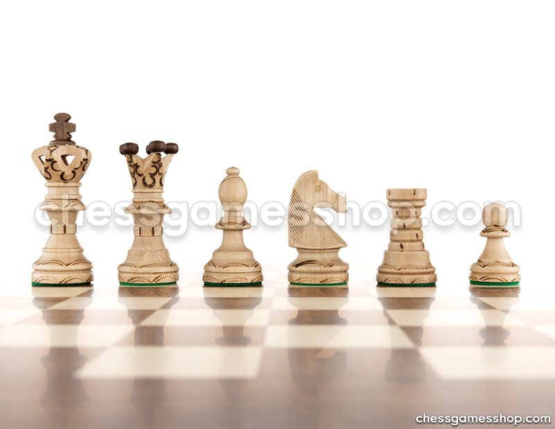 Wooden chess pieces <br> Ambassador