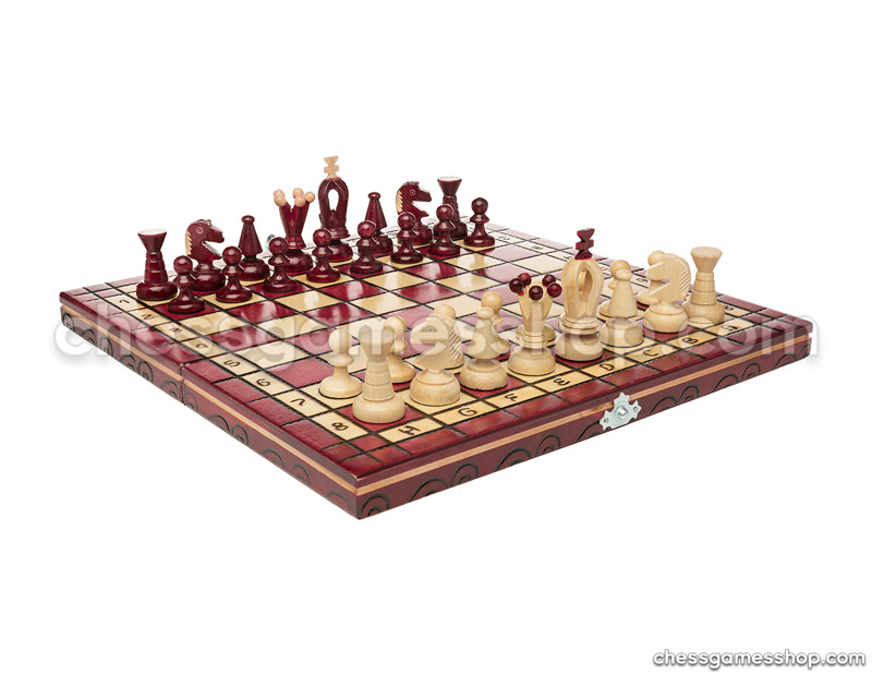 Chess set <br>Cherry
