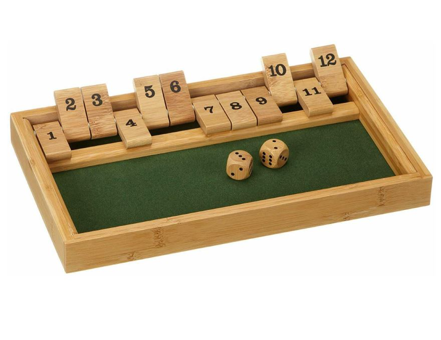 Shut the box<br>bamboo