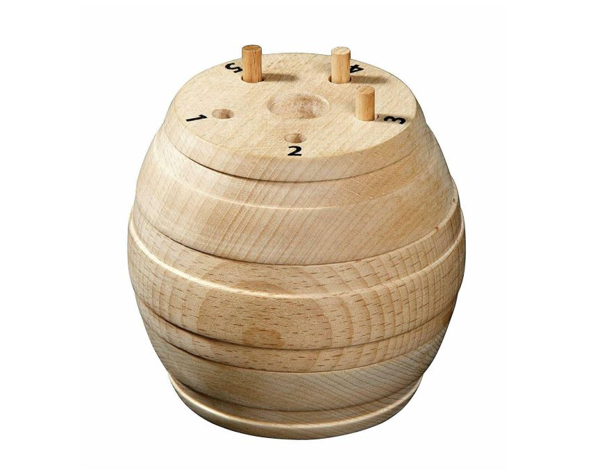 Barrel with Holes