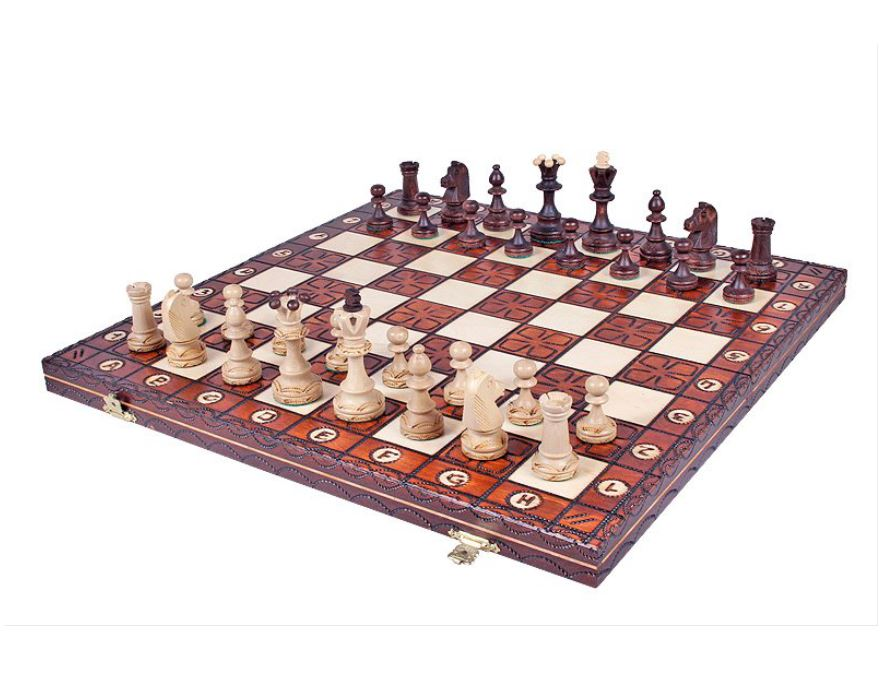 Folding chess set <br> Junior