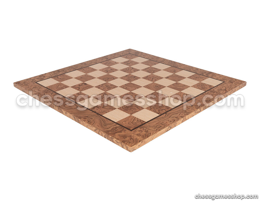 Wooden chess board <br> oak