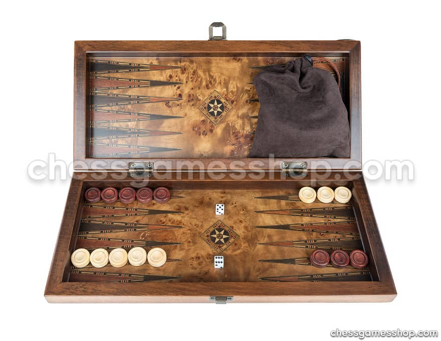 Backgammon Royal Set <br> Monaco