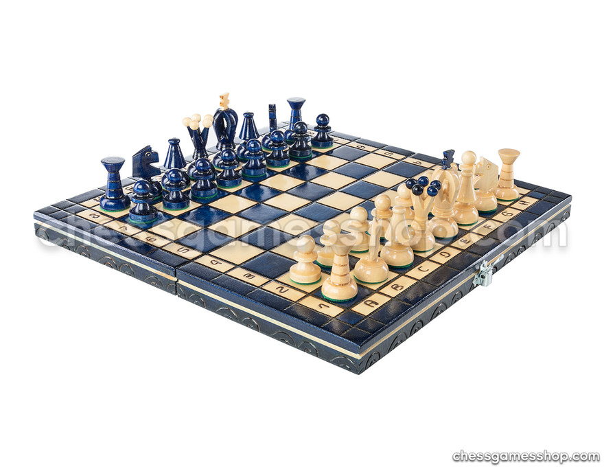 Chess set Blueberry