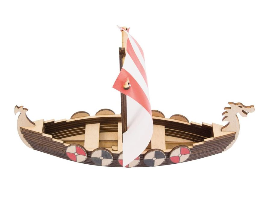 Wood 3D puzzle - Viking boat