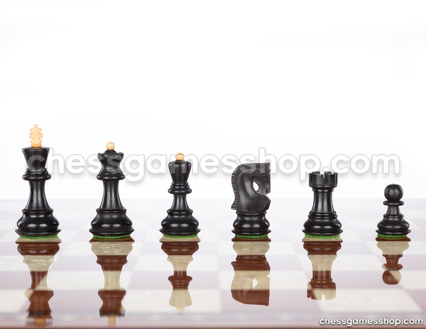 Chess Pieces<br>Dubrovnik Royal Black