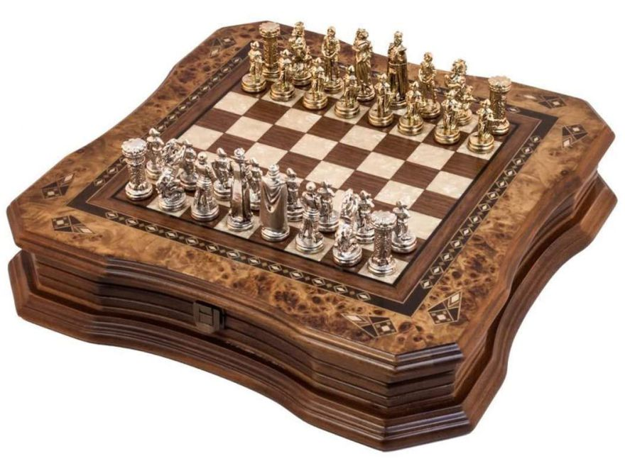 Luxury chess Antique Art