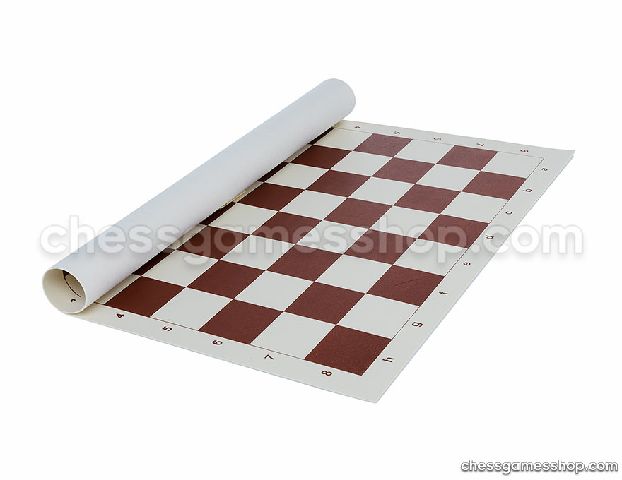 Plastic roll-up Chess Board 50 mm