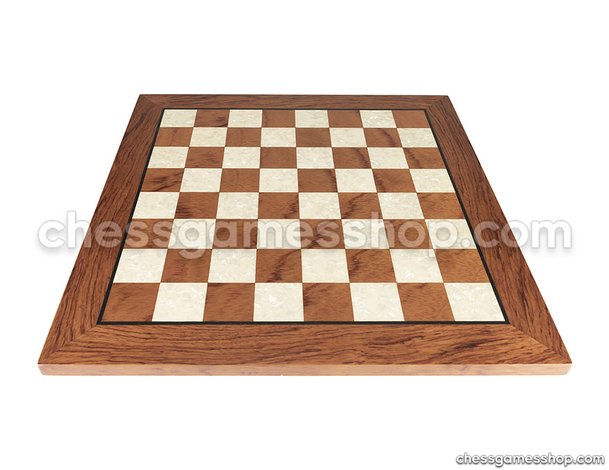 Wooden chess board ROSEWOOD  ART