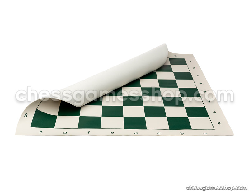Roll-up chess board<br>Green 55m