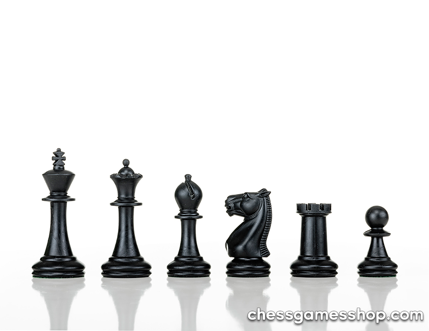 Plastic chessmen Staunton small
