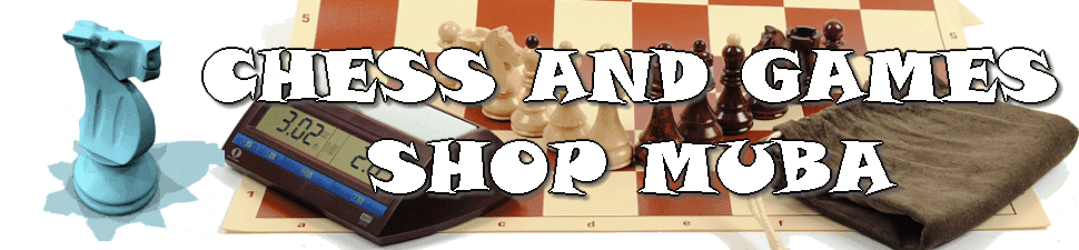 Chess And Games Shop Muba - buy high quality chess sets, pieces, clocks, books, software etc